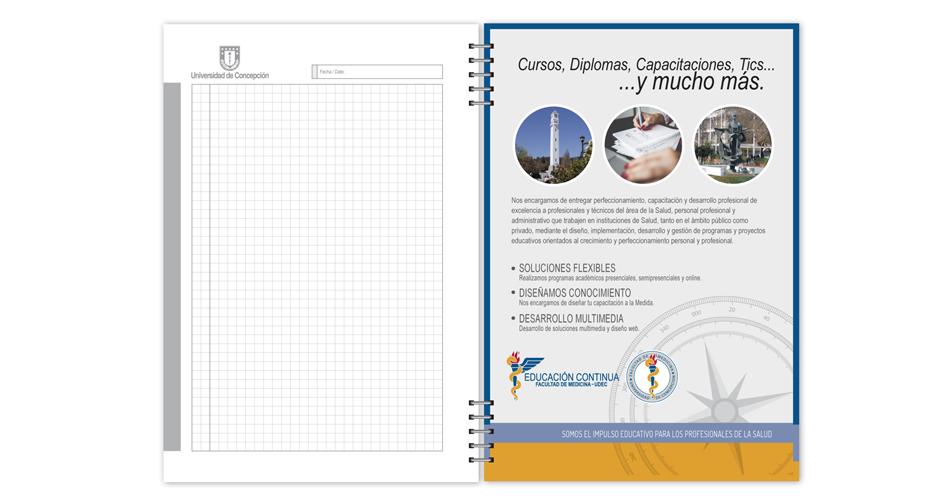Cuaderno Corporativo 100 hojas